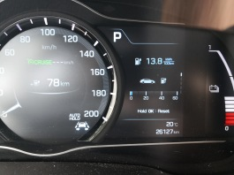 Spar - Povprečna poraba 13,8 kWh / 100 km