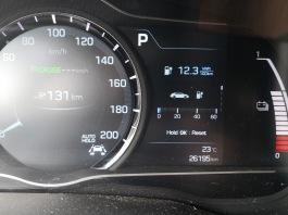 OMV / McDonald's - poraba od Spar do tu: 12,3 kWh / 100 km