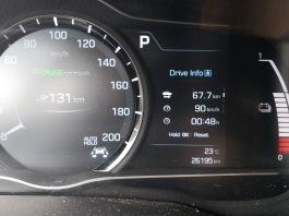 OMV / McDonald's - od Spar-a do tu: 67,7 km, povprečna hitrost 90 km/h