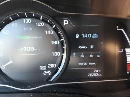 Lidl Brno Osová - povprečna poraba 14 kWh / 100 km od OMV/McDonald's-a